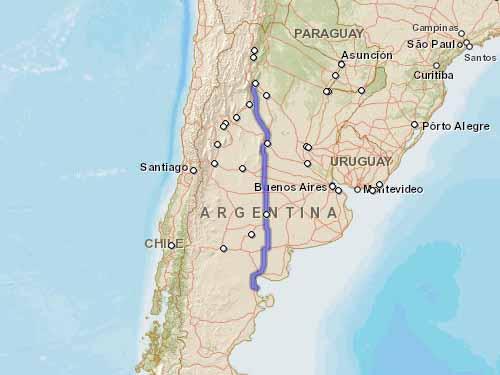 Como llegar a Playas Doradas desde San Miguel de Tucuman