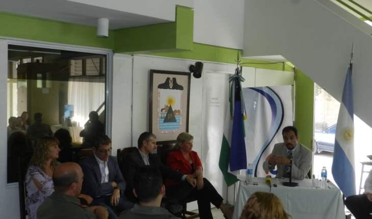 Intendente Renzo Tamburrini en la apertura de sesiones.
