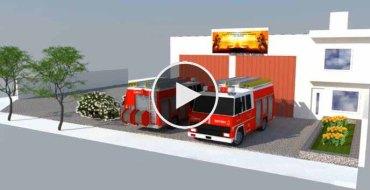 Bono contribucion cuartel de bomberos de Playas Doradas