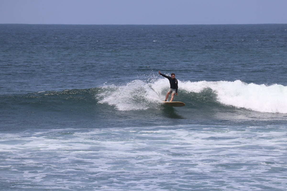 Surfers love Mexican seafood