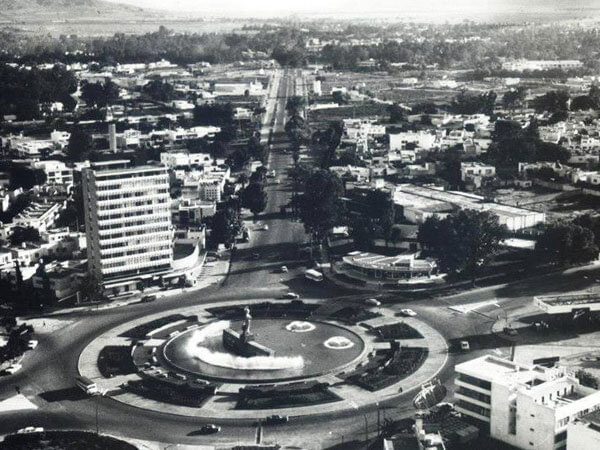 Torre Minerva in the Glorieta Minerva 1970s