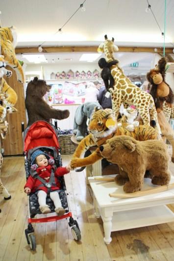 Burford Garden Company Toy Shop Giant Stuffed Bear