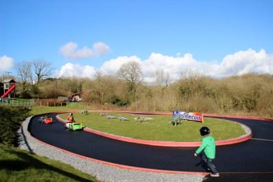 Tenby-Dinosaur-Park-Race-Car-Track