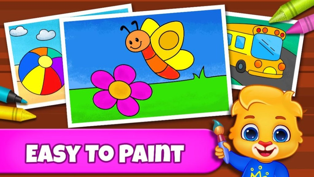 Coloring Games: Coloring Book, Painting, Glow Draw - FREE GAMES