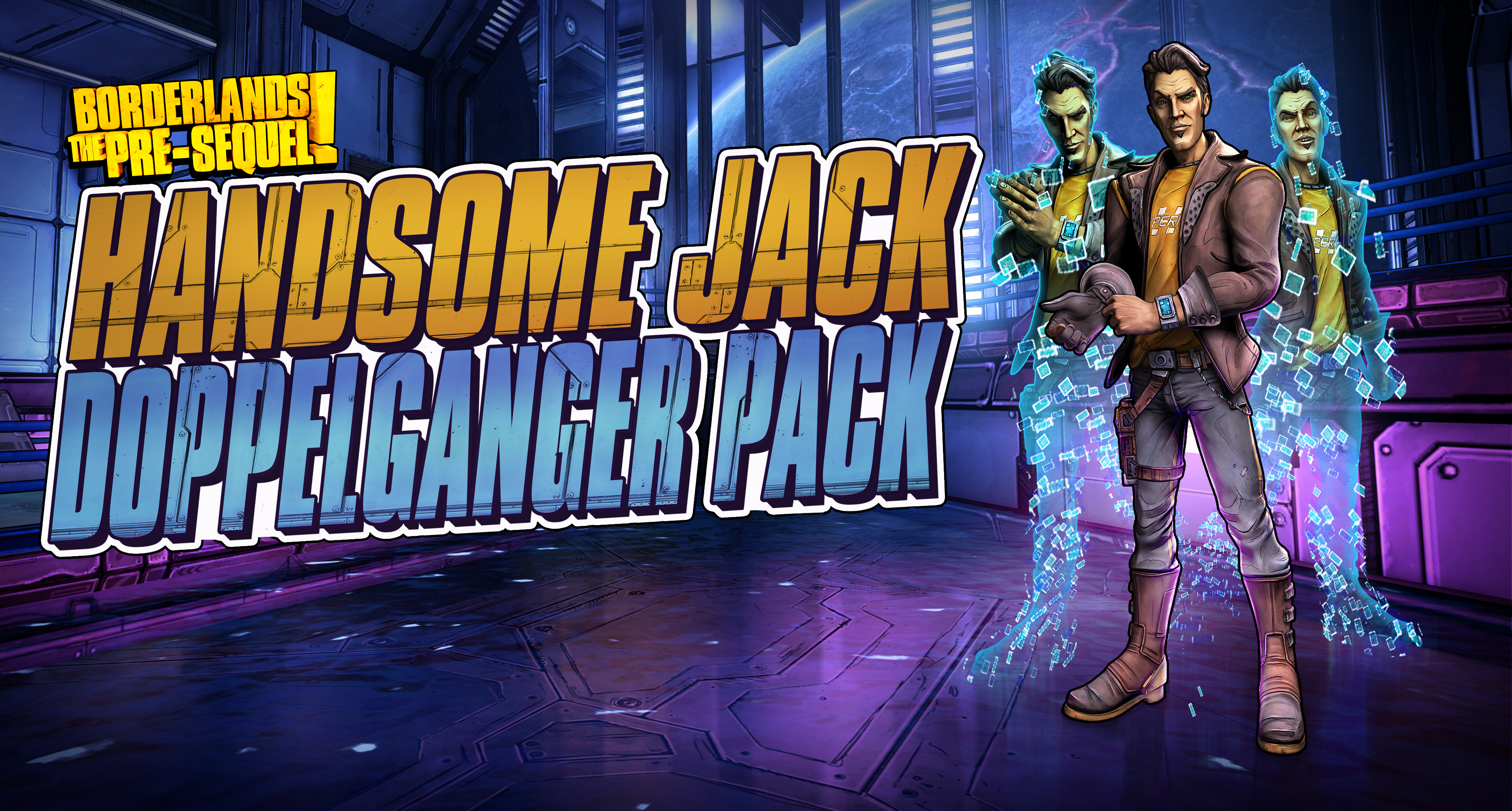 Borderlands Pre-Sequel character: Handsome Jack