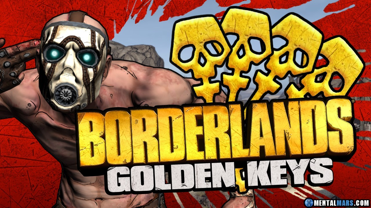 Golden keys Golden Chest Borderlands