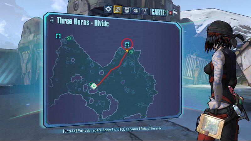 Three horns divide minecraft easter egg bl2 borderlands 2