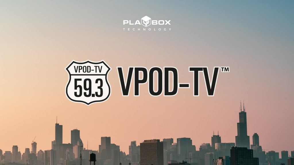VPOD TV Chooses PlayBox Technology Channel in a Box