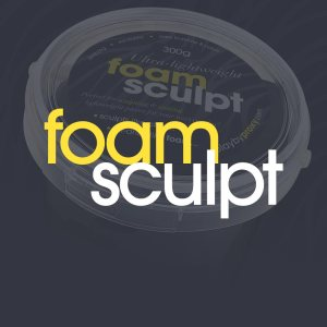 Ultra-lightweight Foam Sculpt