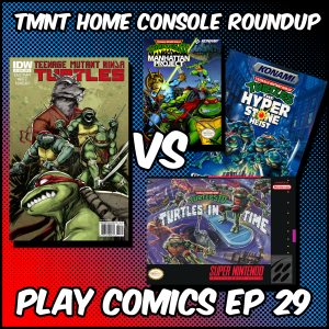 Teenage Mutant Ninja Turtles Home Console Roundup with Megan and RJ