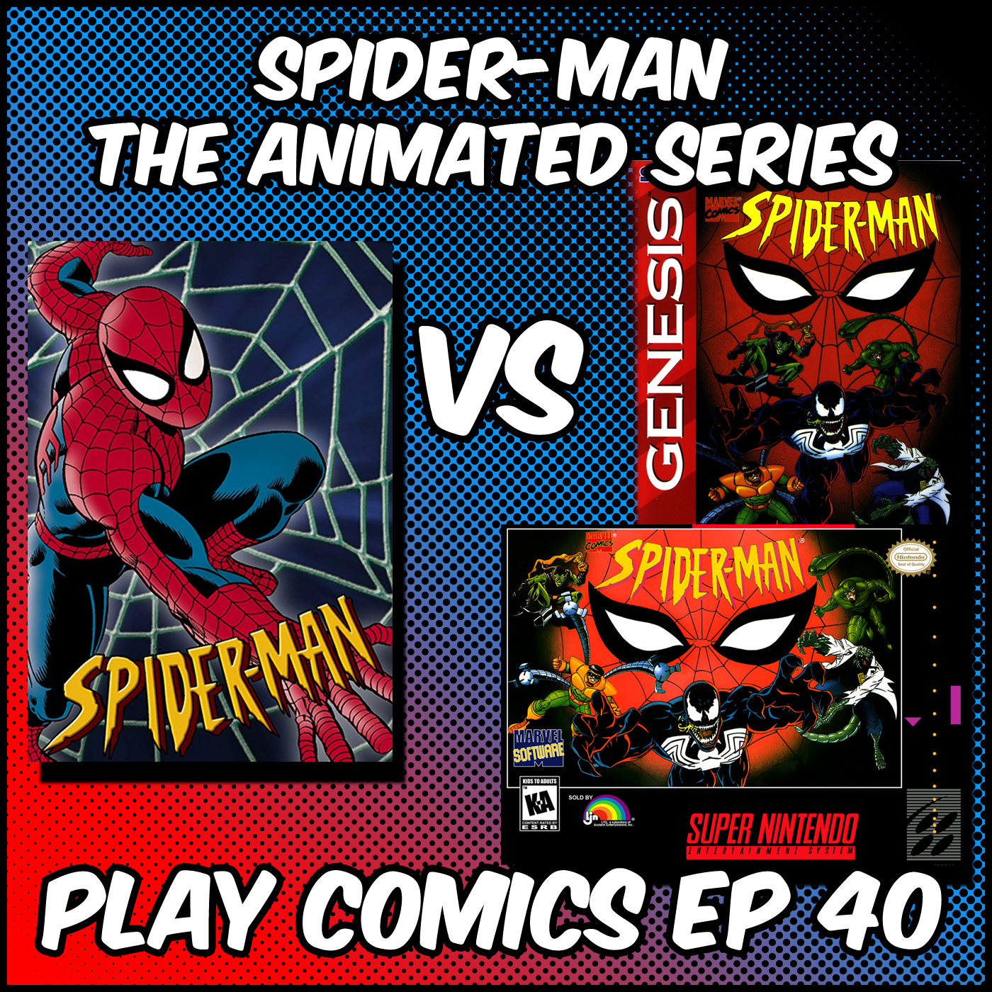 Spider-Man the Animated Series with Matt Gardner (Floating Hands Studios)