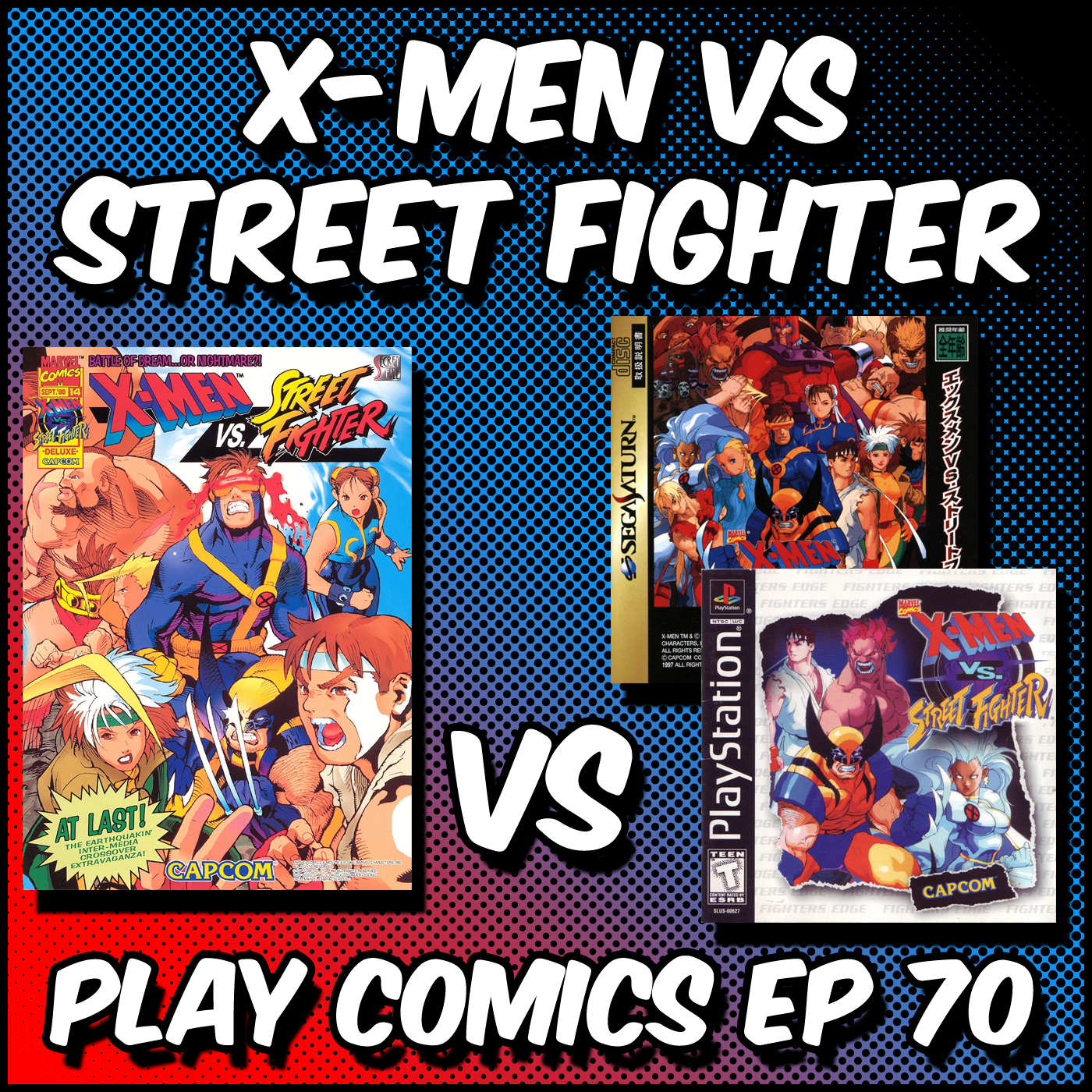 X-Men vs Street Fighter with Chris Sims (The ISB)