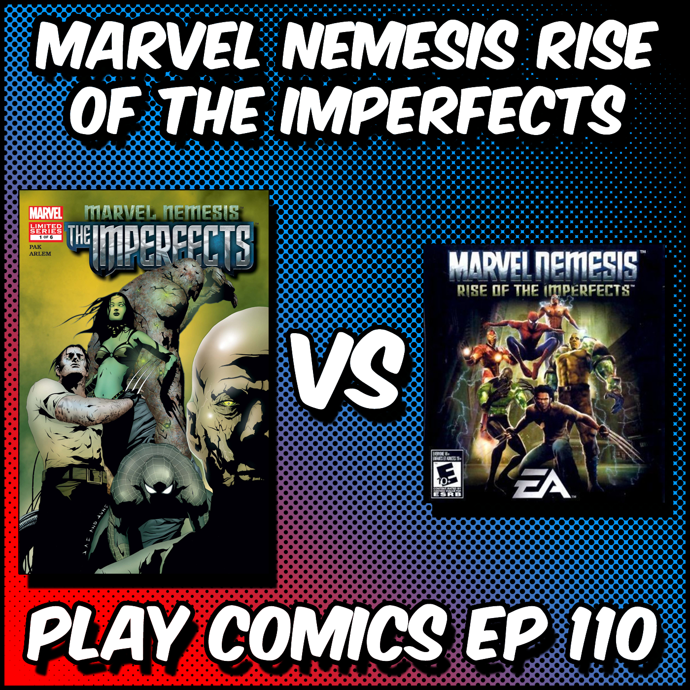 Marvel Nemesis Rise of the Imperfects with Robert Secundus (Comics XF)