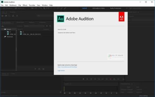 Adobe Audition cracked 2021