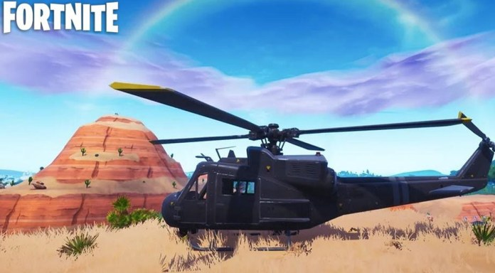 Fortnite The Helicopter