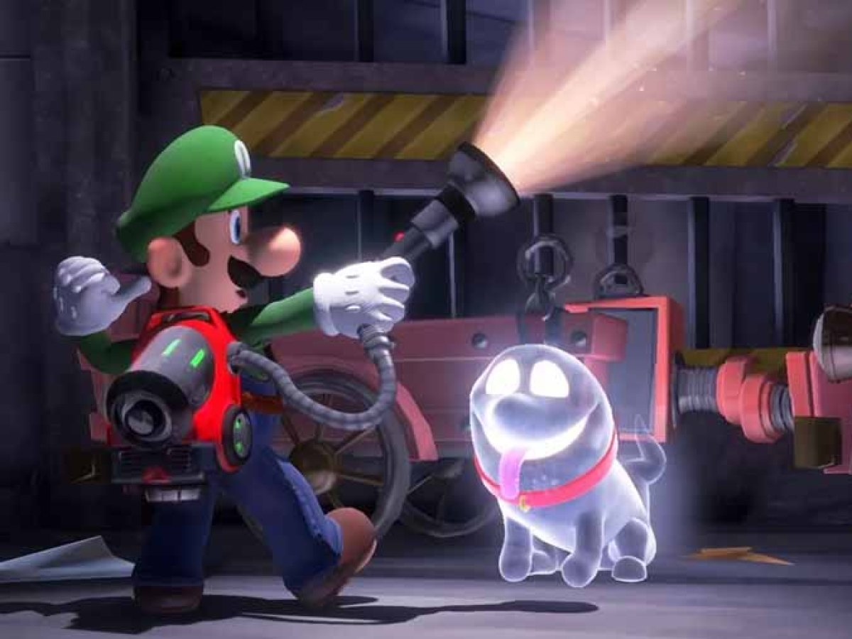 Luigi S Mansion 3 For Switch Chasing Ghosts In Co Op In The
