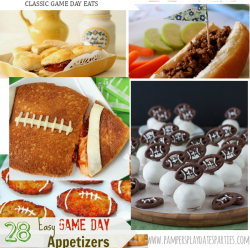 Take a look at some more creative game day treats!
