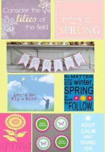 {Roundup} Free Spring Printables!