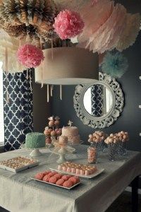 Stunning Wedding Shower Displays