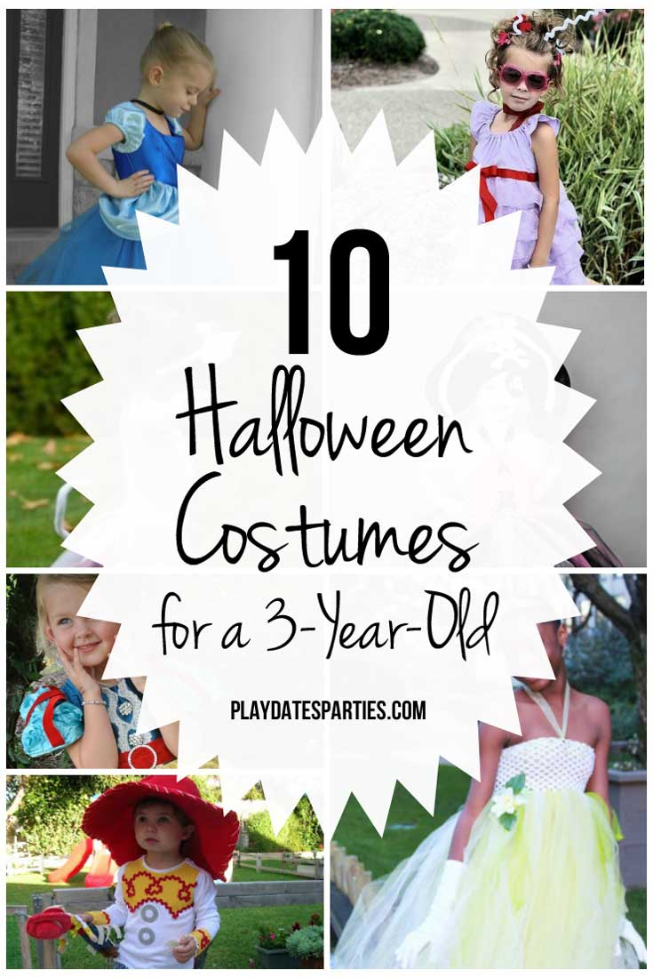 Here's a list of 10 perfect Halloween costumes for a 3-year-old girl. Which one do you think my girly girl chose to wear?