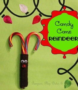 {Tutorial} Candy Cane Reindeer
