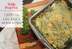 {Recipes} Quinoa Egg Bake