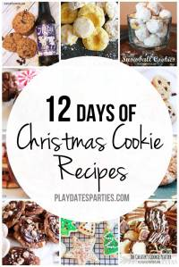 12 Days of Christmas Cookie Recipes