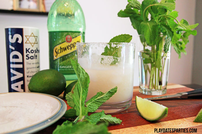 The Mojitarita: A cross between a mojito and margarita mocktail made to satisfy summer cocktail cravings without the alcohol.