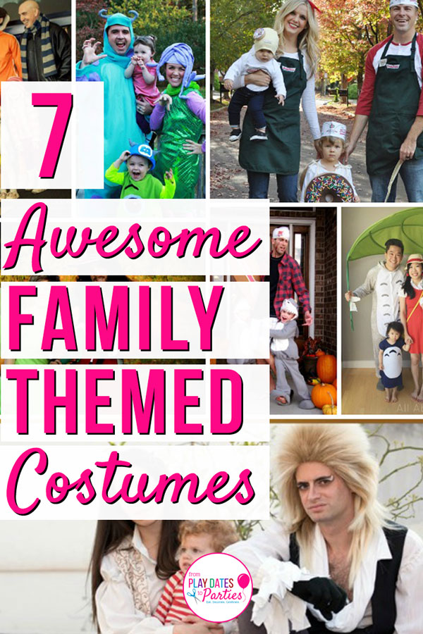 Do you ever feel that halloween creeps up on you or that you're never actually ready when the day arrives? 7 Awesome Family Themed Halloween Costumes