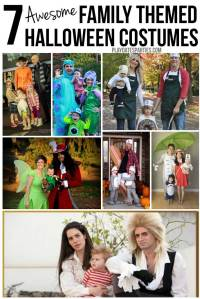 7 Awesome Family Themed Halloween Costumes