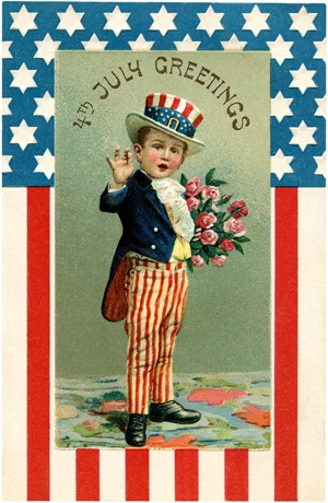 Graphics Fairy - Young Uncle Sam