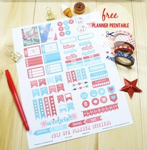 Vintage Glam Studio - Planner Stickers