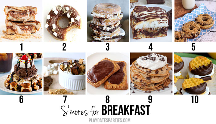 Smores-Breakfast-Recipes