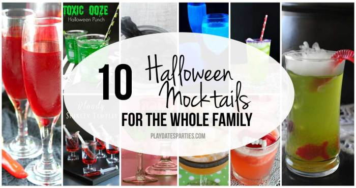 Start a new family tradition with a pitcher of one of these 10 Halloween mocktails while you join the kids for trick-or-treating.