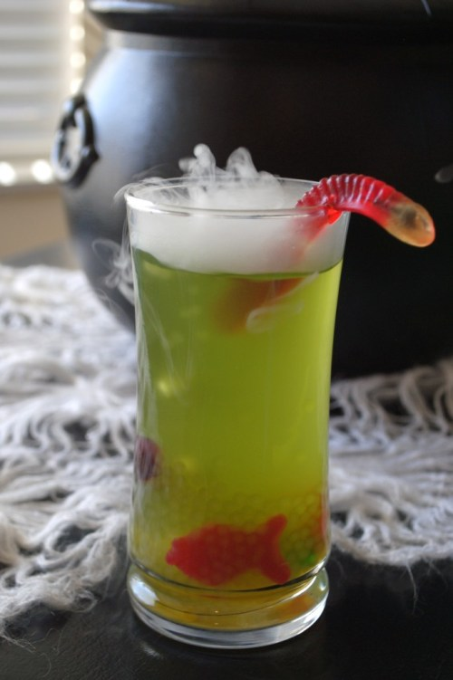 Fishy Swamp Juice: Start a new family tradition with a pitcher of one of these 10 Halloween mocktails while you join the kids for trick-or-treating.