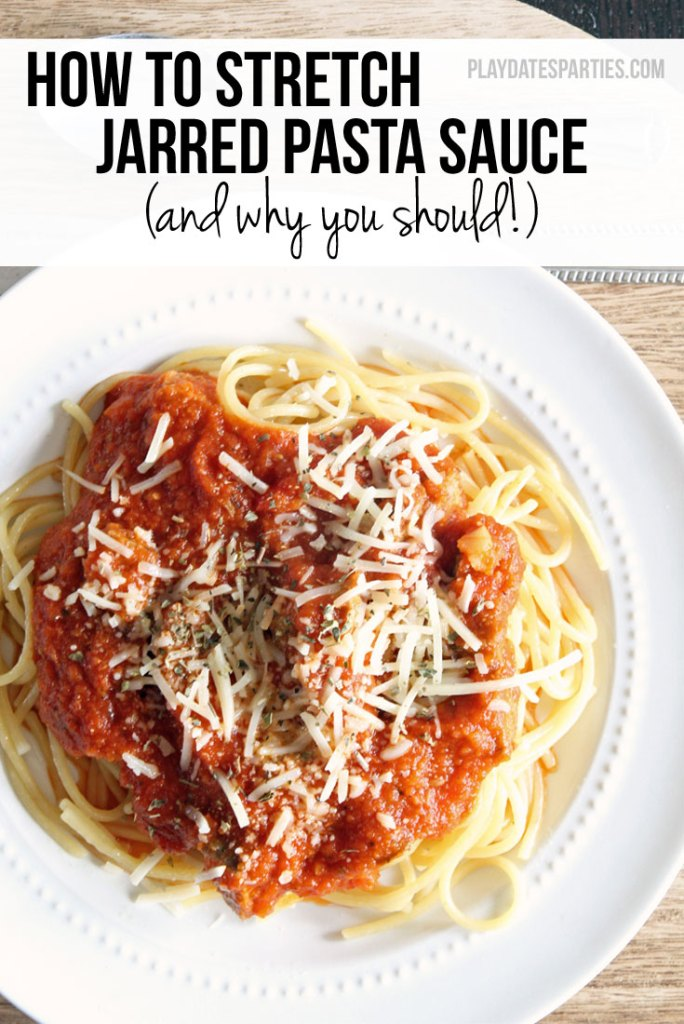 How to Stretch Jarred Pasta Sauce