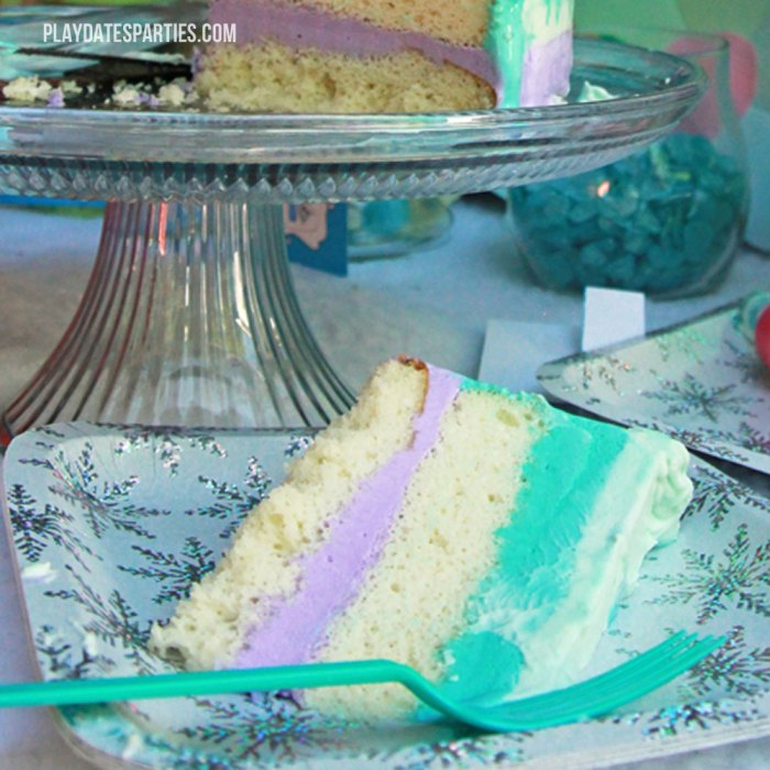 Frozen Ice Cream Cake Images : How to Make a Frozen Inspired Ice Cream Cake