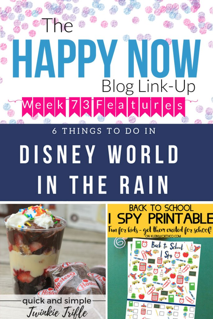 The Happy Now Blog Link Up #73