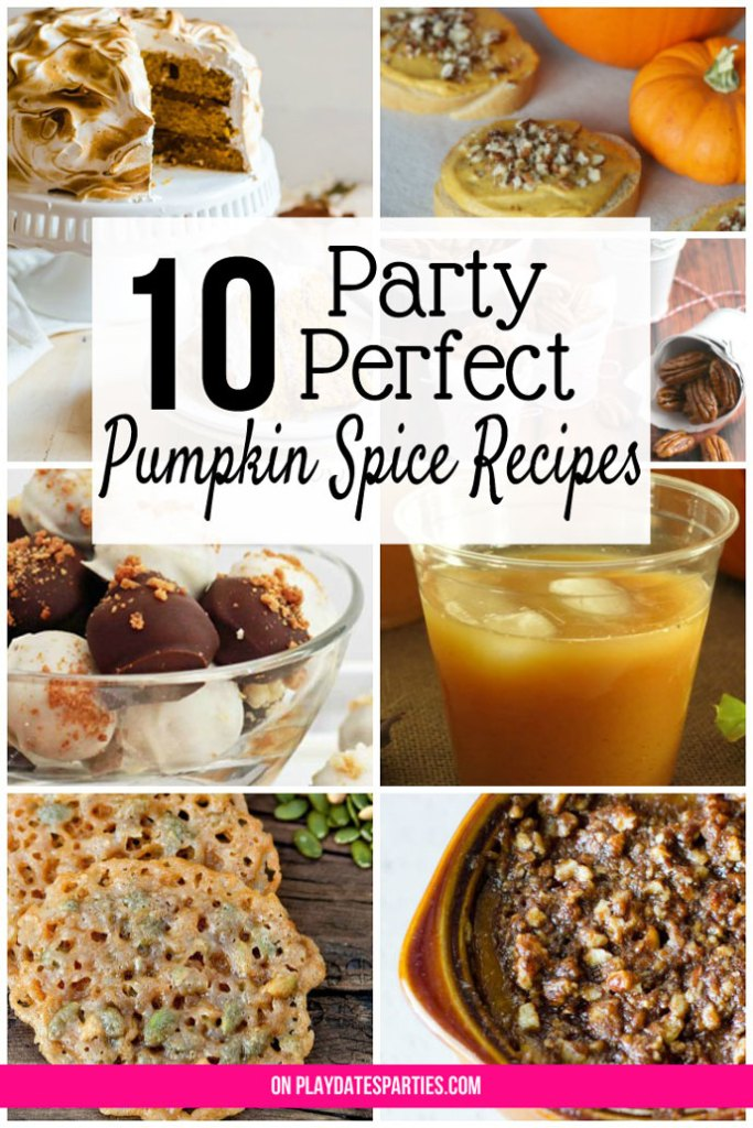 Hosting a party this fall? Serve your guests one of these perfect pumpkin spice recipes for a party. Everyone will love how unique and tasty they are!