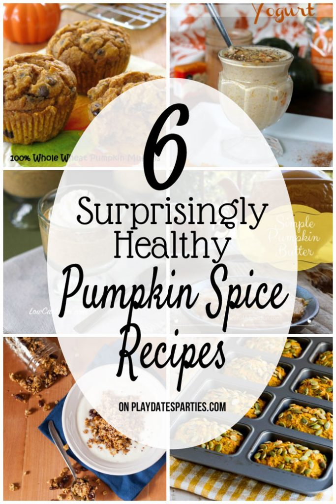 Eating healthy doesn't mean you have to miss out on seasonal favorites. These 6 healthy pumpkin spice recipes are both tasty and good for you!