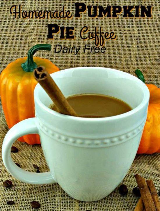 Dairy Free Pumpkin Pie Coffeeby Reuse Grow Enjoy