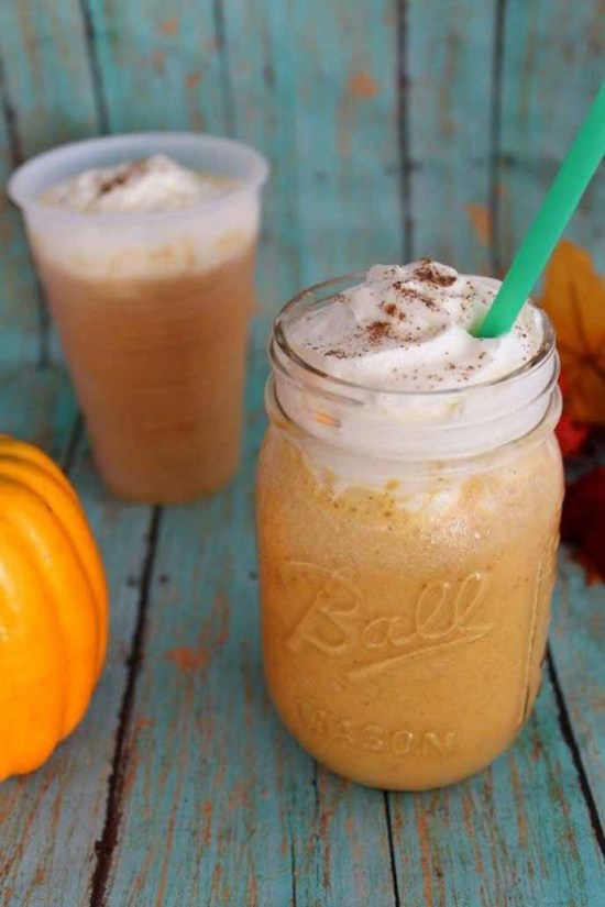 Copycat Pumpkin Pie Spice Frappucino by Tamilee Tips