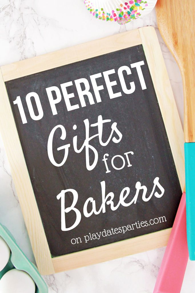 No useless trinkets here! These tried and true baking items are the perfect gifts for people who love baking. From stocking stuffers to the big wow-em #gifts, you're sure to finds something you can give with love. #Christmas