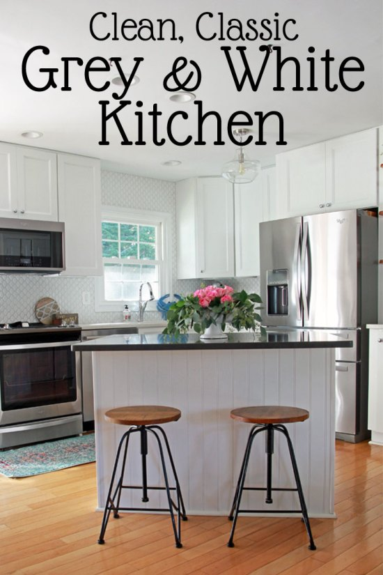 Our Small White Kitchen | Clean and Classic