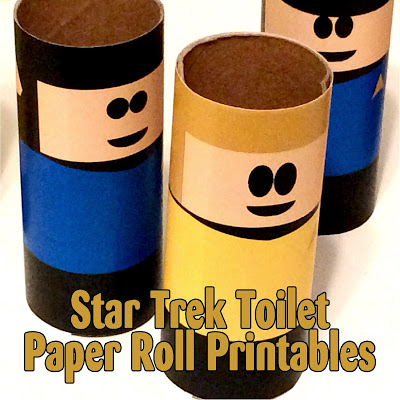 Star Trek Toilet Paper Roll Printables From The Treasured Bookshelf.