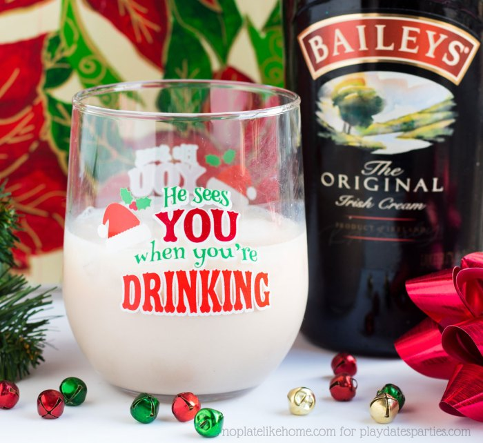 Bailey's Butterscotch Almond Cocktail
