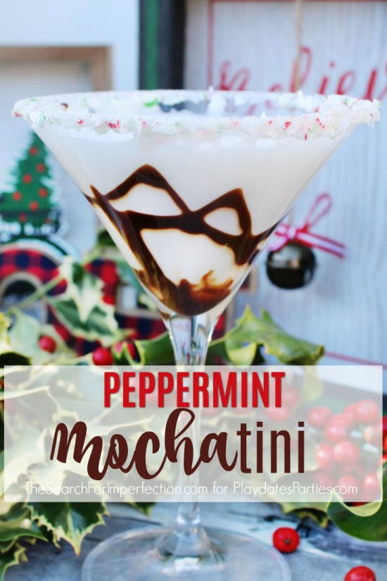 Peppermint Mochatini Cocktail Recipe