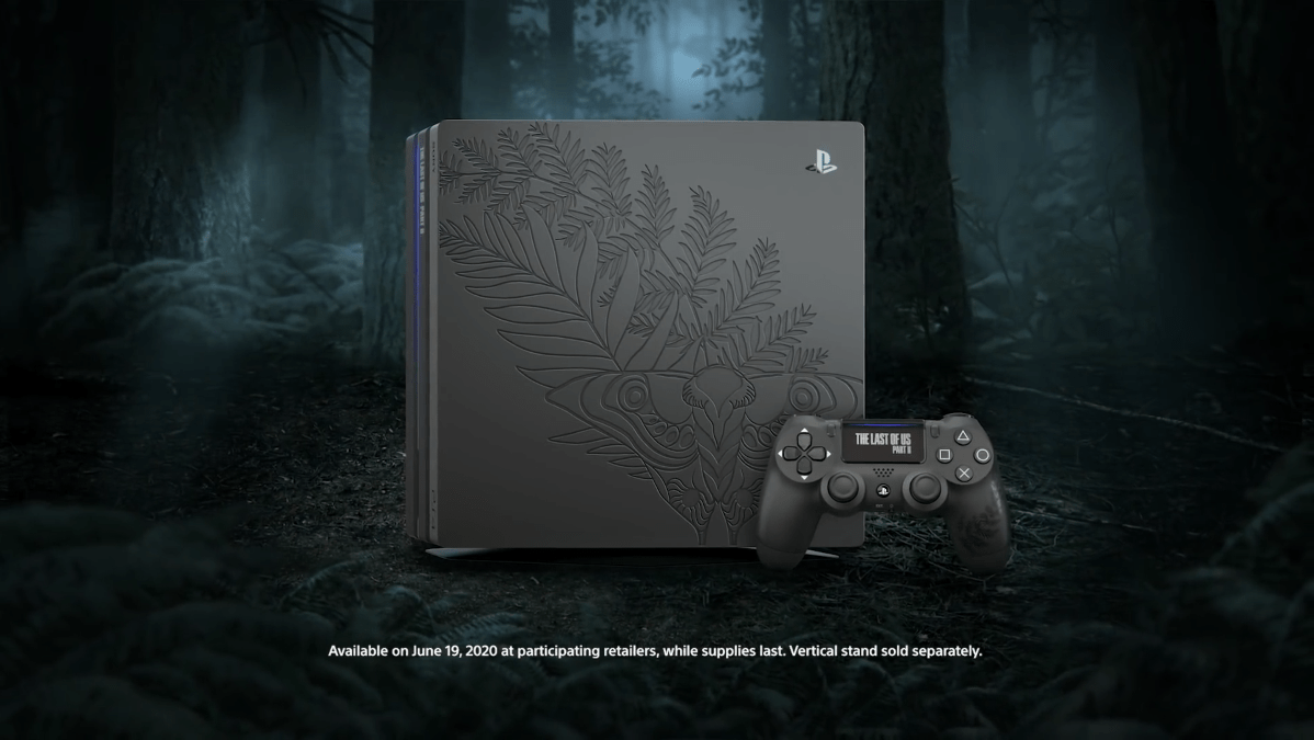 Sony revela PS4 Pro Edición especial de The Last of Us Parte 2