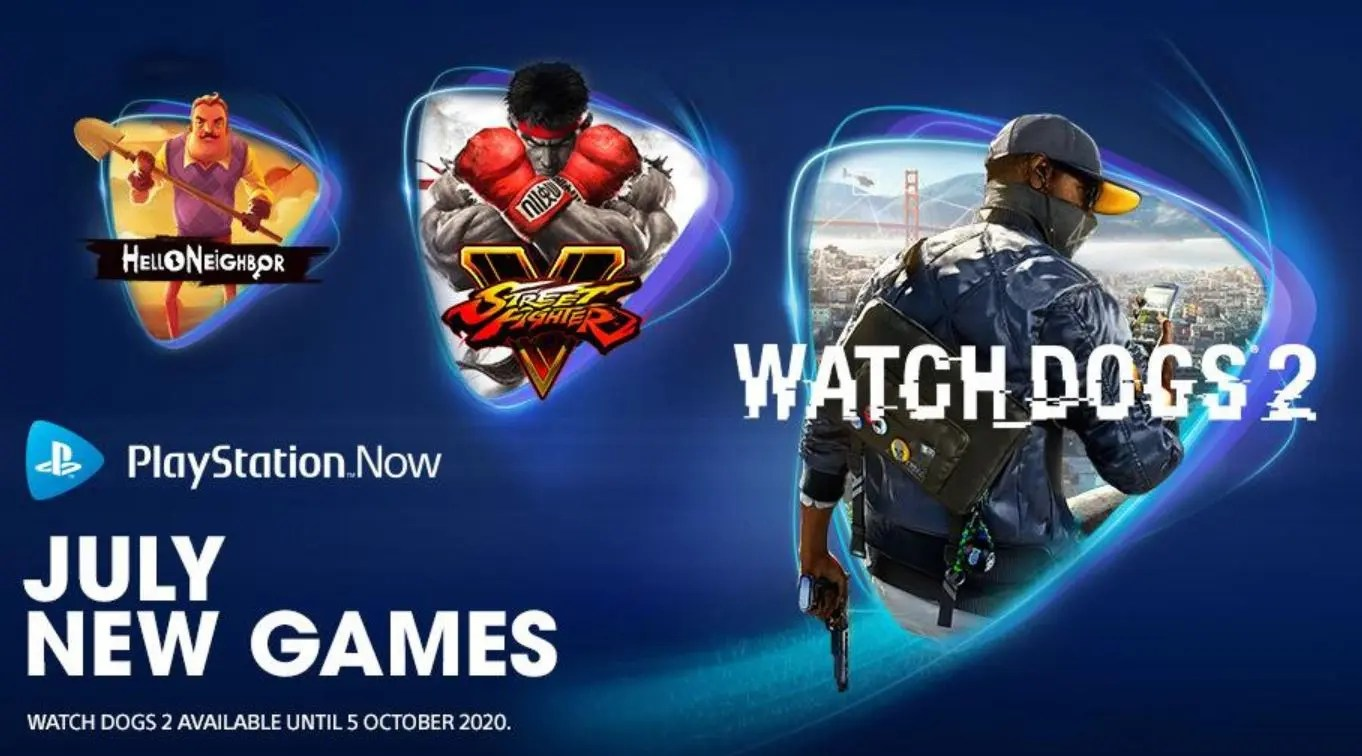 Watch Dogs 2, Street Fighter V y mas llega a PS Now en julio