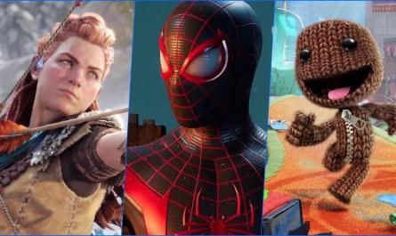 Los juegos de PlayStation 5: Spider-Man Miles Morales, Sackboy y Horizon: Forbidden West se lanzarán en PS4